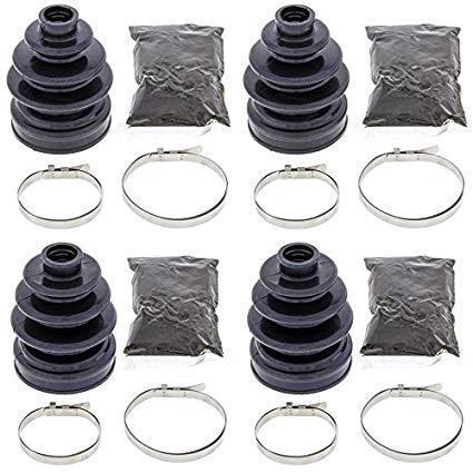 Complete Front Inner /& Outer CV Boot Repair Kit for Honda Pioneer 500 SXS500M 20