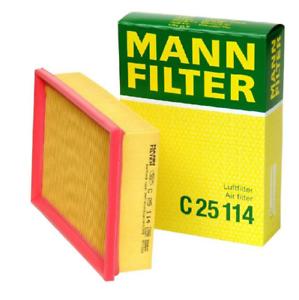 For-BMW-E46-325i-330i-X3-Z4-Air-Filter-MANN-C-25-114-New