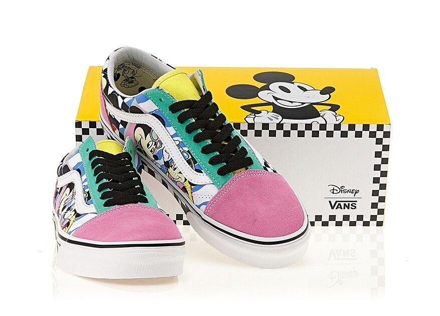 Vans Old Skool Athletic Canvas shoes Unisex Sneakers Mickey Disney