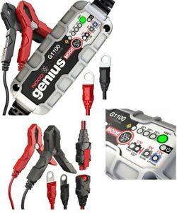 Noco-Genius-G1100-Battery-Charger-UK-Motorbike-Car-Van-6V-12v-1-1A-Lithium