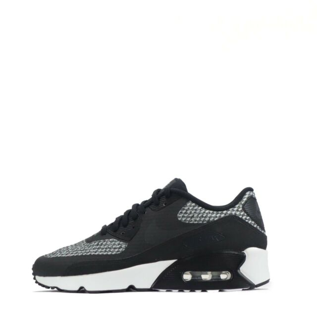 353bbed904 Nike Air Max 90 Ultra 2.0 SE GS Black Womens Boys Girls Trainers ...