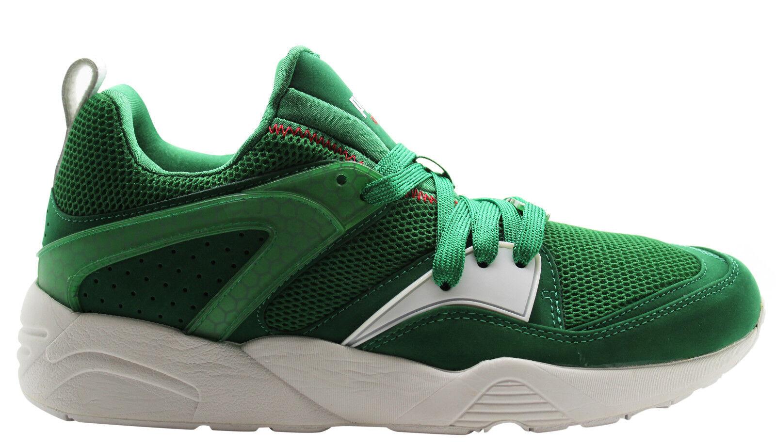 Puma Trinomic Blaze Of Glory X Green homme Trainers 358490 01 U18