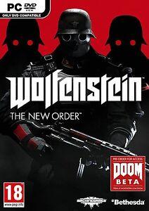 Wolfenstein-Il-Nuovo-Ordine-PC-OTTIMO-1st-Class-consegna