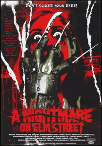 "002 A Nightmare on Elm Street - Classic Horror USA Movie 14""x20"" Poster"
