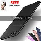 Black Ultra thin Full Body Shockproof Soft Case Cover For iPhone 7 7 Plus