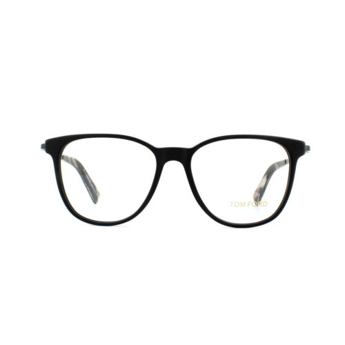 Tom Ford Glasses Frames FT5384 002 Matte Black 51mm
