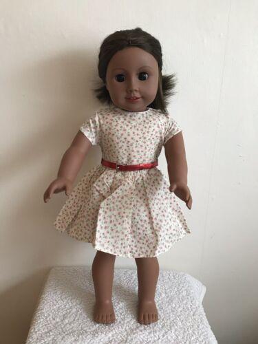 18 Pouces poupée fille robe à fleurs avec ceinture American Girl notre génération