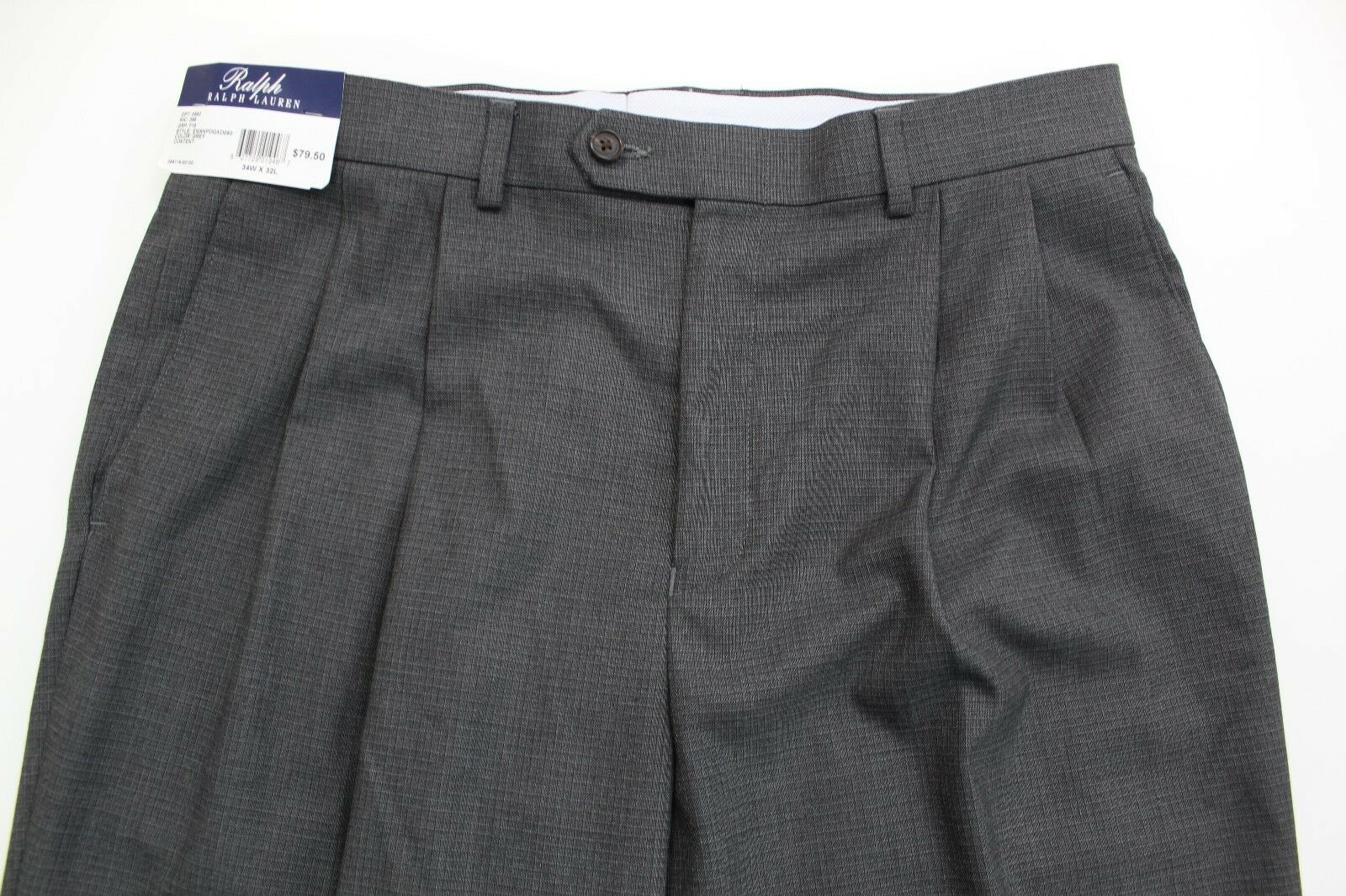 Men's RALPH LAUREN Comfort Flex Dress Pants 34x32 34 32 NWT + New