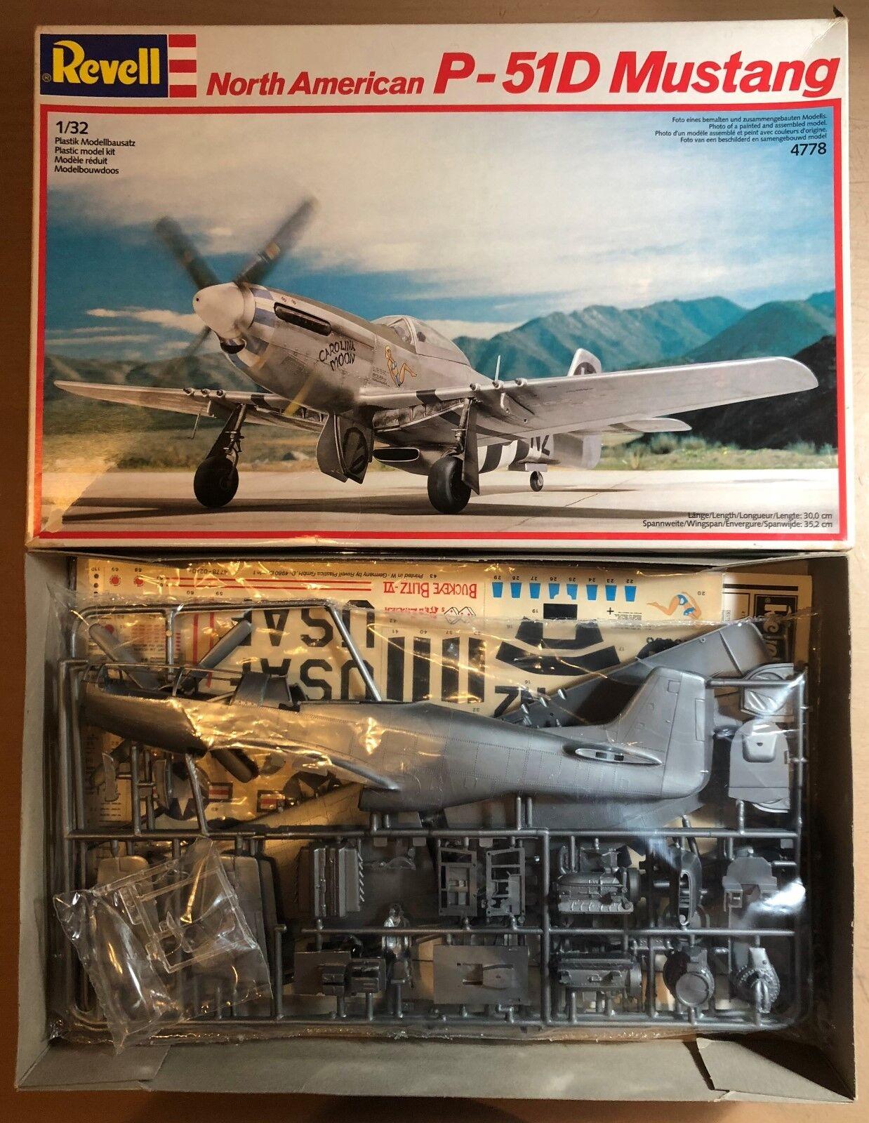 il più economico REVELL 4778 - - - NORTH AMERICAN P-51D MUSTANG - 1 32 PLASTIC KIT  consegna gratuita