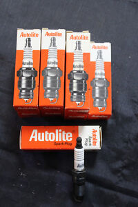 C-3 NOS Autolite Spark Plug 55 Eight Pack