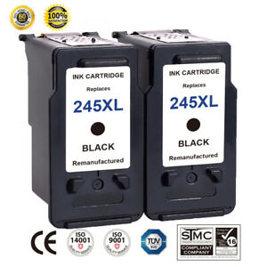 2-PK-For-Canon-PG-245XL-Black-Ink-Cartridge-PIXMA-MG2450-MG2520-MX490-MX492