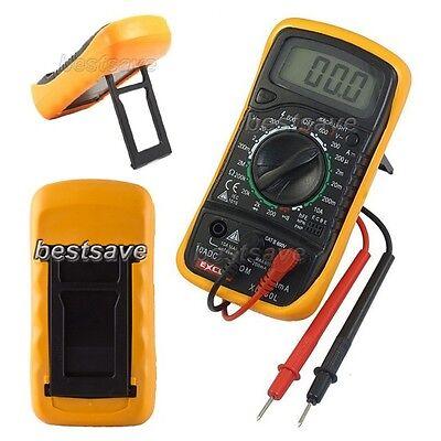 Digital DC AC Multimeter Ammeter OHM Volt Meter Voltmeter Tester XL-830L Excel