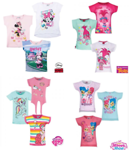 Tshirts Fully Licensed Minnie Mouse Trolls Little Pony Girls Character Tshirt
