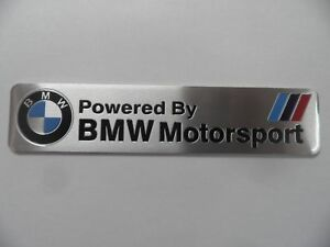 BMW-Motorsport-Alu-3D-Aufkleber-Sticker-Emblem-M-Power-Performance-Plakette