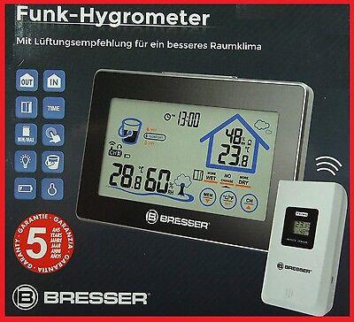 Bresser Funk Hygrometer mit Lüftungsempfehlung für ein besseres Raumklima