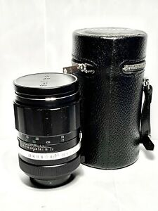 Objectif-SOLIGOR-135mm-f-2-8-M42-Tele-Auto-Lens-Pentax-Canon-Nikon-HOUSSE