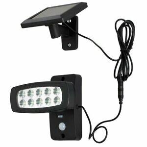 LED Solar COB Außenleuchte PIR Bewegungssensor Wandlampe Außenstrahler
