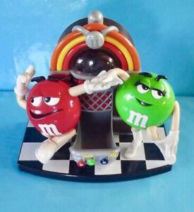 Collection-M-amp-M-039-s-Rouge-amp-Vert-distributeur-Cacahuete-Bonbons-Chocolat-Juke-Box