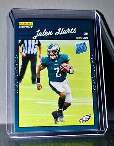 Jalen Hurts 2020 Panini NFL Rated Rookie Retro #22 Rookie Football Card 1/2044