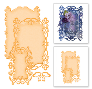 3Pcs Frame Cutting Dies Metal Stencils Scrapbook Embossing Decor Crafts Card DIY