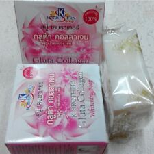 K.BROTHERS GLUTA COLLAGEN - WHITENING SOAP - ANTI ACNE - ANTI AGING - FREE P&P!!