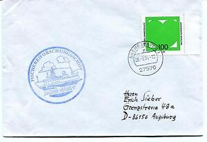 1994 Walther Herwig Iii Fischereiforschungsschiff Bremerhaven Polar Arctic Cover