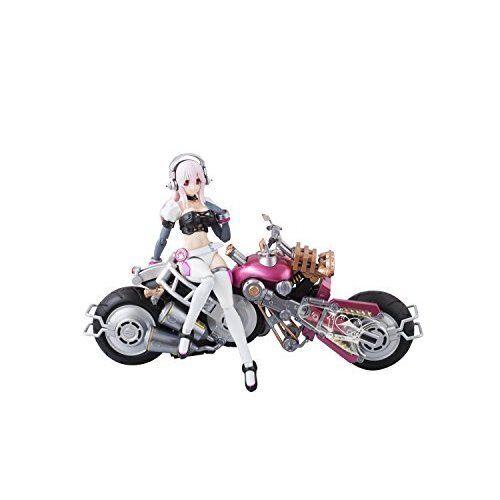 Bandai Armor Girls Project Sonico with Bike Robo Nitro Super Sonic Action Figure