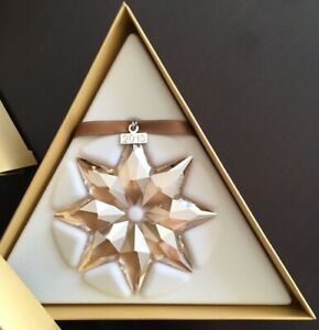Swarovski Collectors Society Christmas Ornament 2013 MIB ...