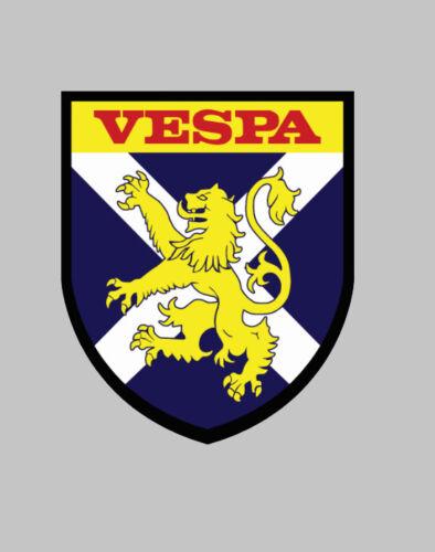 Scotland Scottish Mods Scooter vespa lambretta roundel decal Sticker Badge