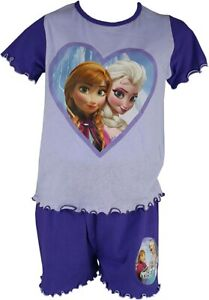 Disney Frozen Elsa And Anna Short Pyjamas. Age 1.5-2 Years/18-24 Months. New