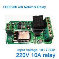ESP8266 WIFI network relay Module 220V 10A DC 7-30V