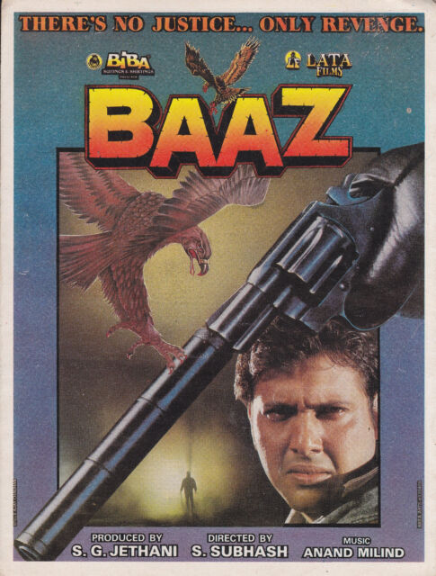 BAAZ  PRESS BOOK BOLLYWOOD  GOVINDA