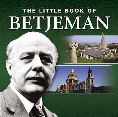 1 of 1 - Little Book of Betjeman, Gammond, Peter, Very Good Book