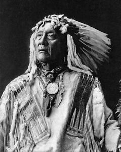 Native-American-Indian-CHIEF-HIGH-BEAR-8x10-Photo-Oglala-Sioux-Print-Poster