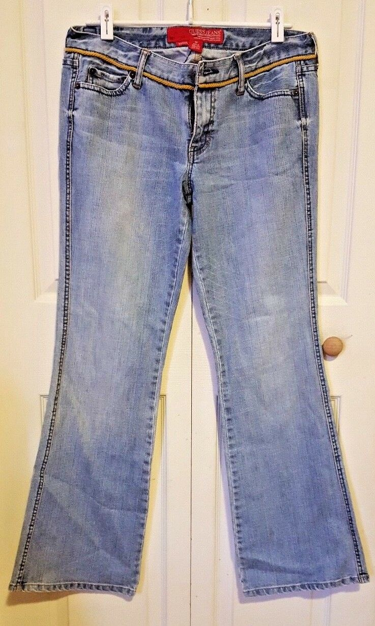 Guess Jeans Light Wash Stretch Boot Cut Women's Jeans Size 30