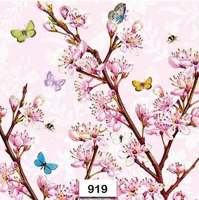 Individual Paper Decoupage Napkin Unique Creative Design Collection 538