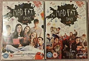 My-Mad-Fat-Diary-Series-1-amp-2-Complete-DVD-2014-2-Disc-Set-Like-New