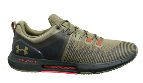 Under Armour Hovr Rise Green Low Lace Up Mens Running Trainers 3022025 301
