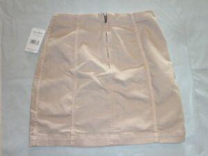 Free-People-VINTAGE-WHITE-Modern-Femme-Denim-Mini-Skirt-NEW-Retail-NWT-SIZE-8