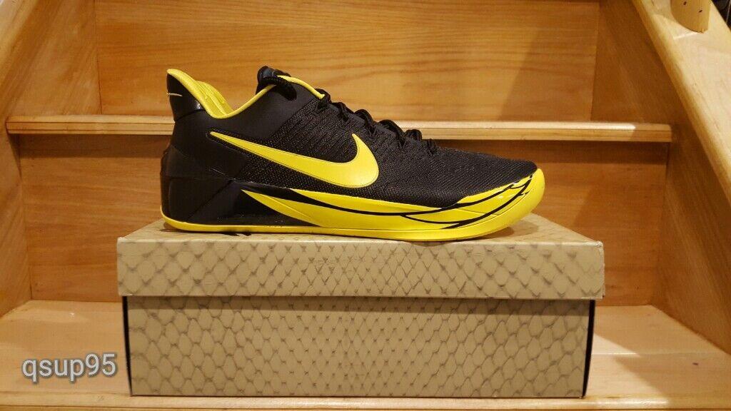 Nike kobe ad oregon ducks 922026-001 uomini dimensioni gli i 8 e i gli 13 giallo nero nuova d651da