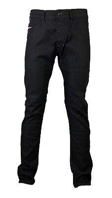 Diesel Uomo Jeans Stretch Tepphar 0800w 800w Blu Scuro Tg. 27/32 Nuovo-mostra Il Titolo Originale