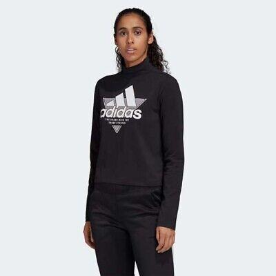 adidas high neck sweatshirt