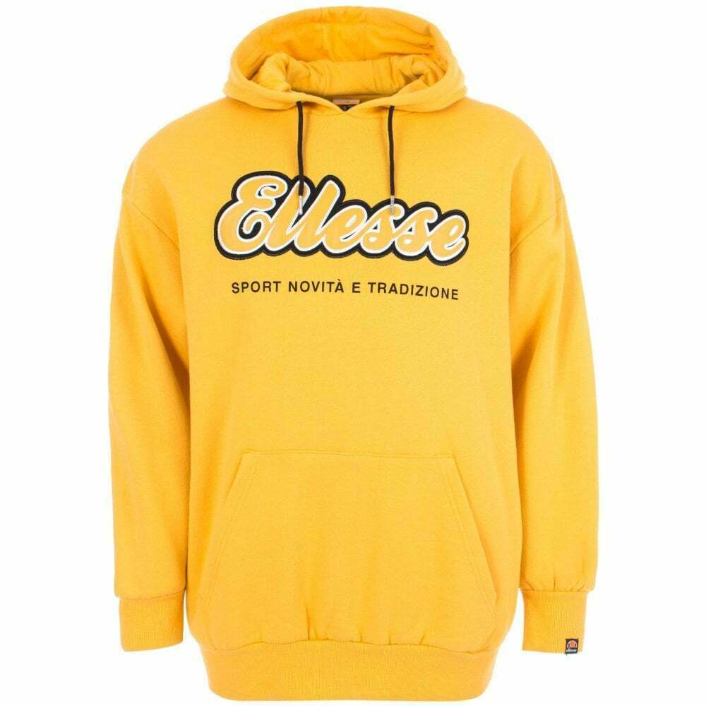 Amideo Oh Cotton OverDimensioned giallo Hoodie