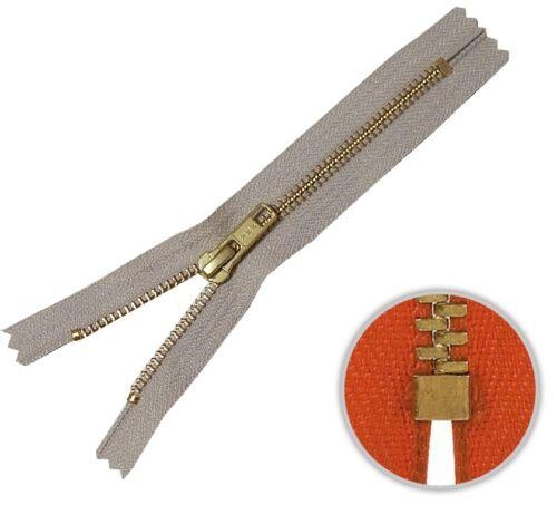572 YKK Jeans Reißverschluss 18cm beige