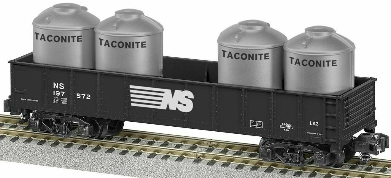 Lionel American Flyer Norfolk Southern Gondola With Containers