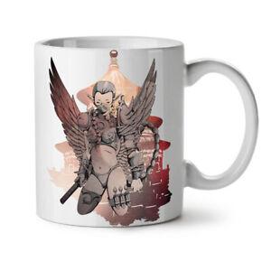 Cyborg Warrior Fantasy NEW White Tea Coffee Mug 11 oz   Wellcoda