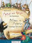 Arthur und Anton: Die Flaschenpost. Deutsch-Italienisch von Sibylle Hammer (2013, Kunststoffeinband)