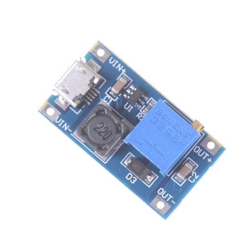 DC-DC USB 2~24V to 5~28V 2A Boost Step Up Adjustable Regulator Power Module  MC