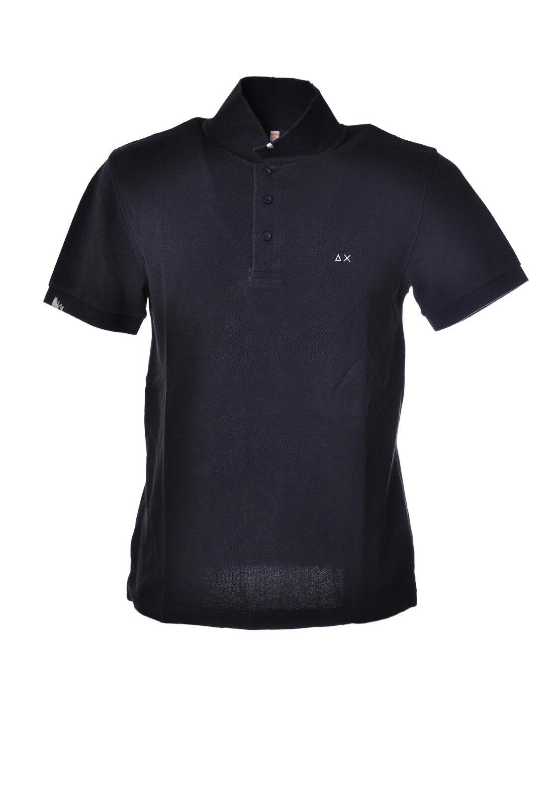Sun 68 - Topwear-Polo - Man - Blau - 3189131G185421