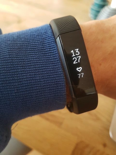Pulsur, Fitness armbånd, Fitbit, Heart rate + fitness…